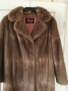 Harrods of London Mink Coat