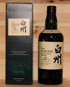 Hakushu Single Malt Whisky aged 12 Years 70cl--- 43% vol. --- incl. Box