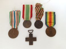Kingdom Of Italy medals