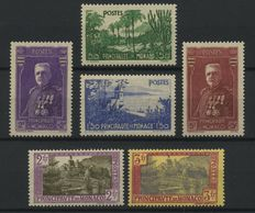 Monaco 1937/1943 - Selection of stamps and sets