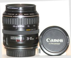 Canon zoom lens EF 28-105 mm F3.5-4.5 Ultrasonic with filter