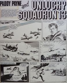 Ross, Ross  - Original page - Paddy Payne and unlucky squadron 13 - ( 1965)