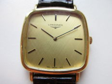 Longines Swiss - gold plated men's dress watch - 1980s