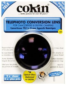 Cokin, Telephoto and Wide Angle Conversion lenses 4 x New