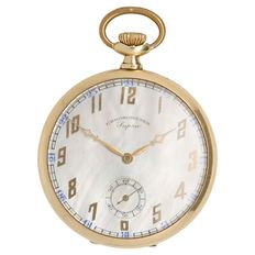 Supra Chronometer – men's pocket watch.
