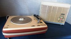 Philips record player AG4656W with tube amplifier from 1964