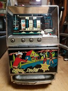 Bally 802-SD one-armed bandit - 1960s