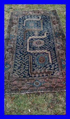 OLD Feraghan (iran) rug carpet!   Hand knotted !!