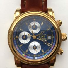 Immersion stendardo chronograph, gold-plated men's watch