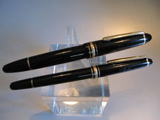 Montblanc Meisterstuck Gold-plated Classique Fountain pen and Montblanc Meisterstuck Gold-plated Classique Roller ball