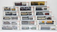 Märklin H0 - Seventeen museum carriages from the years 1991 to 2008