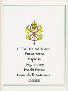 Vatican City – Services – 1938-1971 Air Mail (11 complete series) – 1929-1966 Express Mail (complete series) – 1931-1968 Postage Due (4 complete series) – 1931 Postal Parcels (complete series) – 2000-2004 Vending Machine stamps (complete series) – MNH