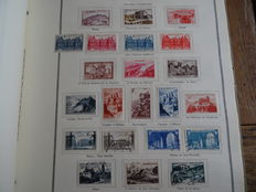 France 1876/1962 – Collection in an old pre-print album (H. Thiaude)