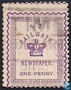 Railways newspaper stamps