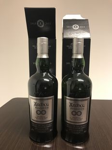 2 bottles - Ardbeg Perpetuum 200th anniversary edition