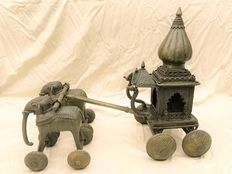 Indian Bronze Temple Toy - ca. 1950