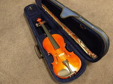 Study violin 3/4, including with thick padded case, bow and rosin