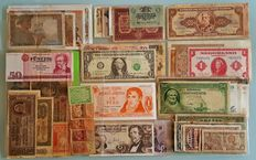 World - Collection of 86 banknotes - 1919 to 1980