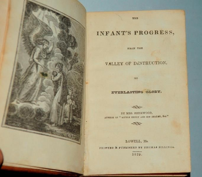 Mrs. Sherwood / John Eadie - The Infant's Progress + The Classified Bible - 2 volumes -   1828/1862