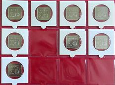 Aruba - 5 cents to 5 Florin 1986/2004 (116 different ones) in album with sleeve
