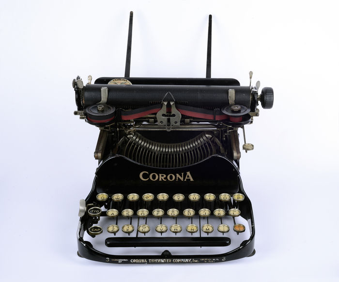 Corona Typewriter Company Inc.-Corona No.3 Folding Arm Writing Machine, 1920, Groton, NY, USA