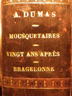 Alexandre Dumas - Les Mousquetaires - 3 volumes in 1 binding - 1847/1857