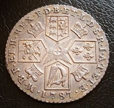 United Kingdom – Shilling 1787 George III – Silver
