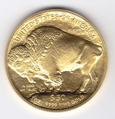 United States – 50 Dollars 2017 'Buffalo' – 1 ounce goud