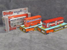 Dinky Toys - 1/66 scale - Lot with 2 x Atlantean Bus Nos.192, 297 and AEC Swift No.283