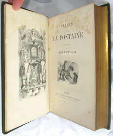 Fables de la Fontaine. Illustrations par J.J. Grandville - 1868