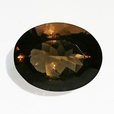 Smoky quartz – 18.38 ct – No reserve price