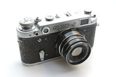 FED-2 with Industar-61 L/D - Excellent rangefinder - Tested with film