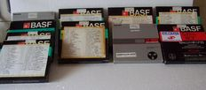 Lot of 36 Audiotapes - Basf - TDK - Philips