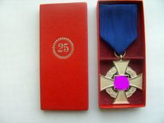 Third Reich: Faithful Service Honour Badge for 25 years