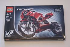 Technic / Agents - 8260 + 8420 + 42036 + 8967 - Tractor + Street Bike + Street Motorcycle + Gold Tooth's Getaway