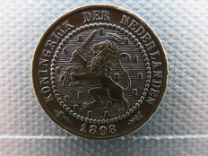 The Netherlands – 1 Cents 1898 Wilhelmina