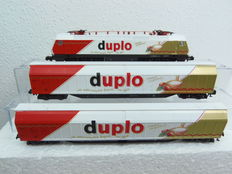 Arnold N - 0368 - Duplo Eurosprinter with 2 Habis carriages of DB