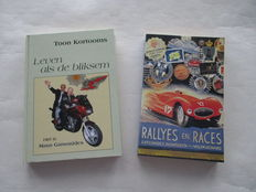 Maus Gatsonides - 2 books one of which is signed - Rallys and Races and live like the lightning