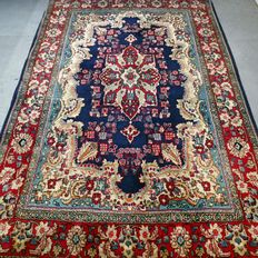 Magical semi-antique Persian Ghom carpet - 155 x 102 - with certificate - SUPER LOOK