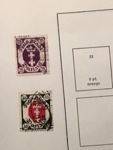 Germany - Reich and States - Batch on Album pages
