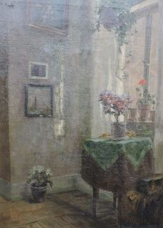 Onner-(early 20th century)-still life from kitchen