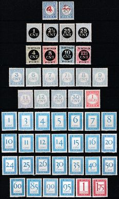 The Netherlands 1906/1947 – Five complete collections Postage Paid