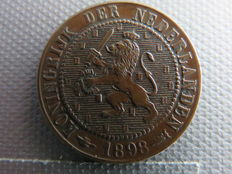 The Netherlands – 2½ cent 1898 Wilhelmina