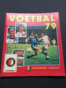 Panini - Soccer 79 - Dutch competition - Complete album.