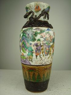 Nanking porcelain vase - China - 1850