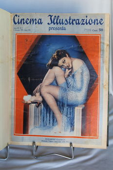 Magazine; Cinema Illustrazione - 52 weekly editions - 1934