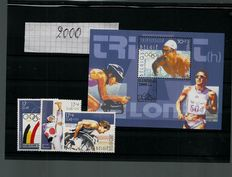 Belgium 2000/2003 - Collection of stamps and blocks