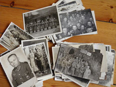 lot 85 x Wehrmacht photos, portraits, and much more. Top RAR