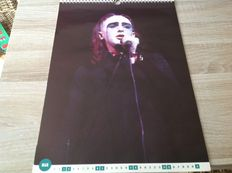 9 Calendars From The 80's And 90's/ Rock, Pop, Jazz Soul, Country/ Billy Idol, George Michael,Jazz Greats,Soul Stars,Peter Gabriel, Country And Western, Genesis, The Bangles And Brother Beyond