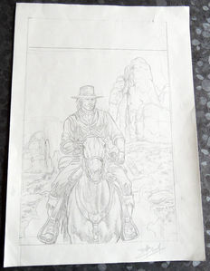 Swolfs, Yves - Draft of graphite cover large format - Durango